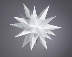 Stern i4 - 40cm Durchmesser weiss, orginal Herrnhuter