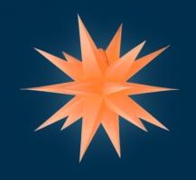 org. Annaberger Faltstern No. 5, 58 cm Durchmesser, orange