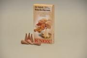KNOX Räucherkerzen Gebrannte Mandeln, 24 Stk./Pkg.