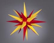 Stern i6 - 60cm Durchmesser gelb-rot, orginal Herrnhuter